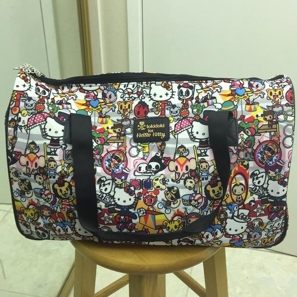 5cf4681b4 Tokidoki x Hello Kitty Circus duffle bag NWT. M_5a4dc8d4077b97b8e204bab5